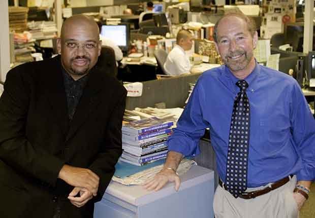 Washington, D.C.: Tony Kornheiser and Michael Wilbon. 50 Boomers, 50 States.