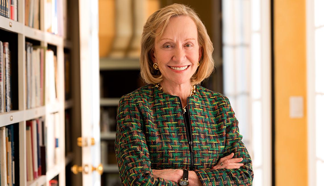 Doris Kearns Goodwin, Pulitzer-Prize winning author, historian, interview