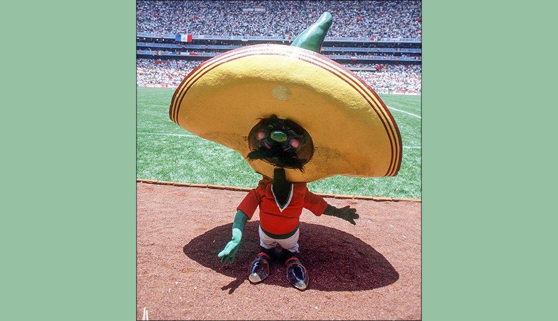 Pique (México, 1986), Mascotas de los mundiales de fútbol