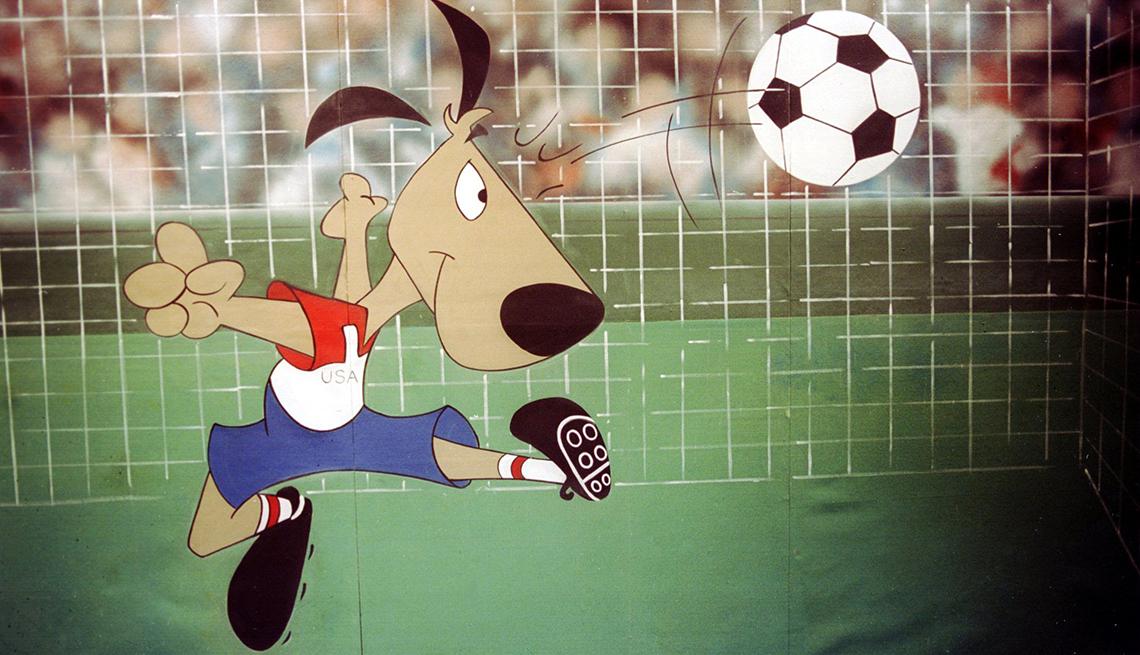 Striker (EE.UU., 1994), Mascotas de los mundiales de fútbol