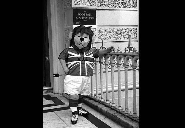 Willie (Inglaterra, 1966), Mascotas de los mundiales de fútbol