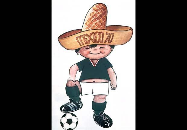 Juanito (Mexico, 1970), Mascotas de los mundiales de fútbol