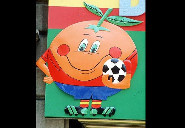 Naranjito (España, 1982), Mascotas de los mundiales de fútbol
