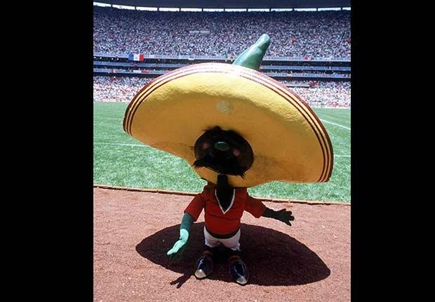 Pique (Mexico, 1986), Mascotas de los mundiales de fútbol