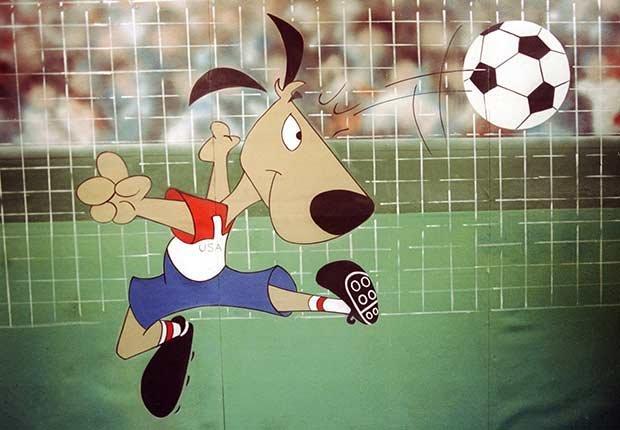 Striker (U.S.A., 1994), Mascotas de los mundiales de fútbol