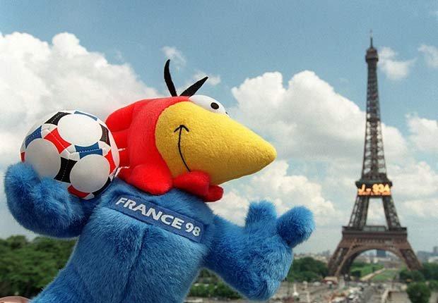 Footix (Francia, 1998), Mascotas de los mundiales de fútbol
