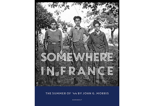 "Book cover of ""Somewhere in France"" by John Morris"