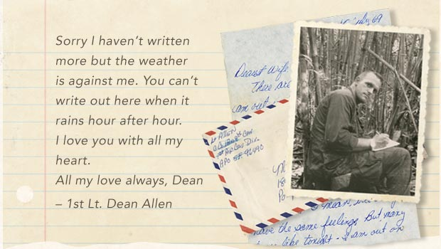 Last Letters Home - Final Words From Fallen Warriors - 1st Lt. Dean Allen