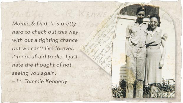 Last Letters Home - Final Words From Fallen Warriors - Lt. Tommie Kennedy