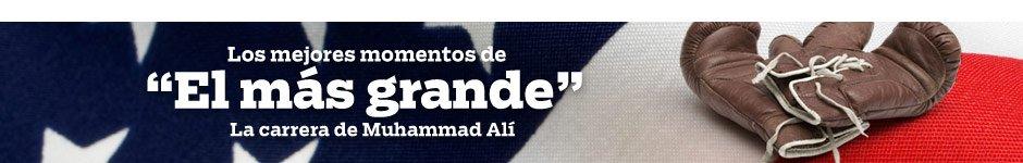 """Los mejores momentos de """"El más grande"""" - La carrera de Muhammad Alí"""