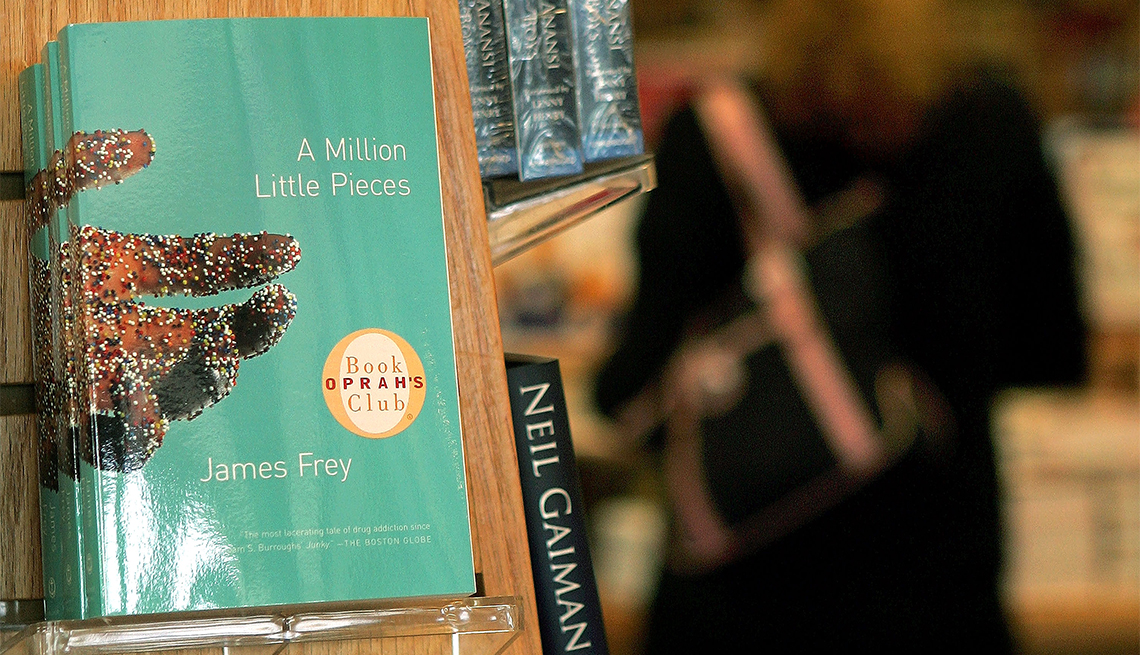'A Million Little Pieces' by James Frey