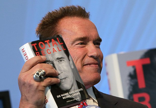 Total Recall: My Unbelievably True Life Story by Arnold Schwarzenegger. Biggest Entertainment Flops.