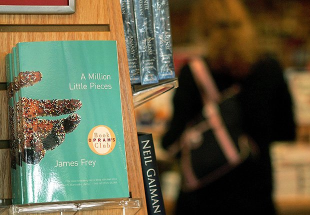 Libro A Million Little Pieces por James Frey - Los mayores fracasos en la industria del entretenimiento