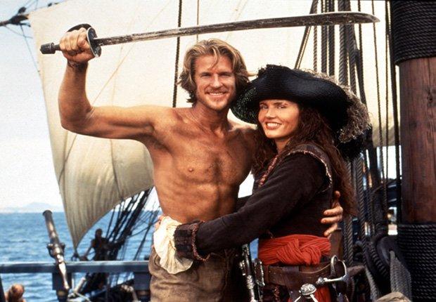 Cutthroat Island protagonizada por Matthew Modine y Geena Davis, 1995 - Los mayores fracasos en la industria del entretenimiento