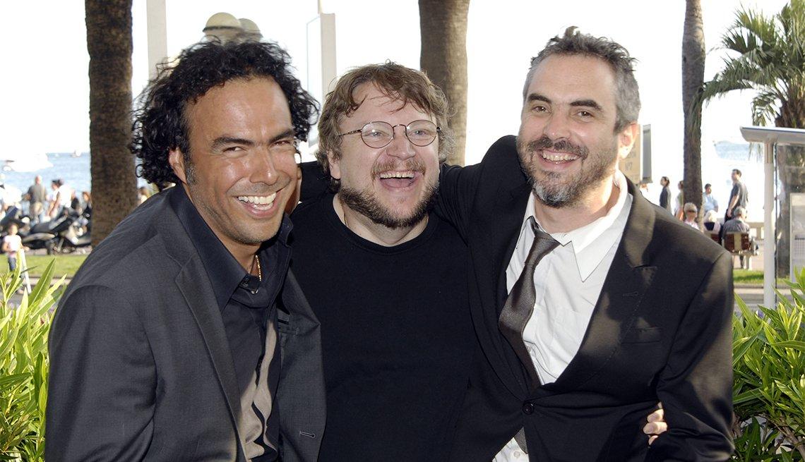 Alfonso Cuaron, Guillermo del Toro y Alejandro Gonzalez Inarritu