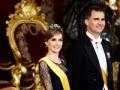 El próximo rey de España, el príncipe Felipe con su esposa, la princesa Letizia - Rey Juan Carlos y el Príncipe Felipe de España.