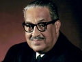 Portrait of American jurist Associate Justice of the United States Supreme Court Thurgood Marshall (1908 - 1993), Washington DC, 1967.
