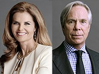 Maria Shriver and Tommy Hilfiger, The Boomer List