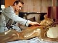 GOLDFINGER Movie, Sean Connery, Shirley Eaton, 1964