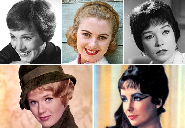 Julie Andrews, Shirley Jones, Shirley MacLaine, Connie Stevens, and Elizabeth Taylor, My Fair Lady 50th anniversary