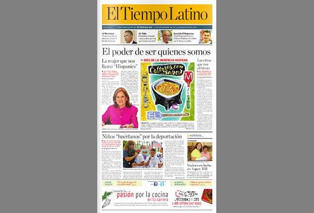 El Tiempo Latino - Periódicos hispanos que hicieron historia