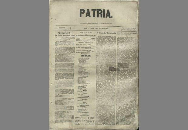 Patria - Periódicos hispanos que hicieron historia