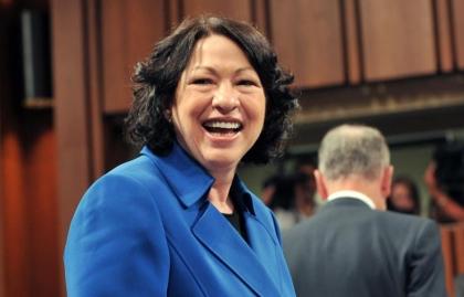 Sonia Sotomayor - Juez de la Corte Suprema de los Estados Unidos.