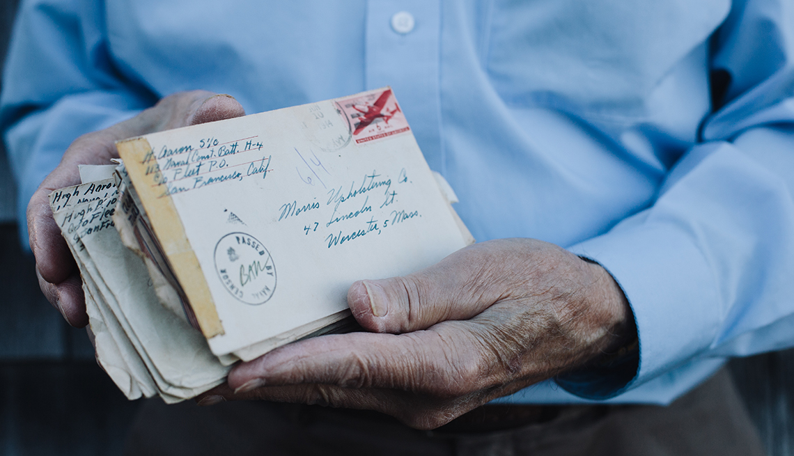Hugh Aaron, Cushing, Maine, Tribue to Veterans, Last Letters Home
