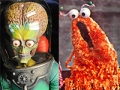 Mars Attacks and Yip yips from Sesame Street