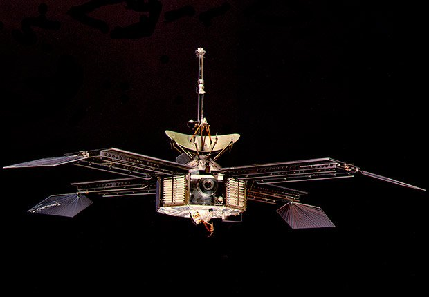 Mariner Four Mars Explorer