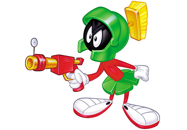 Marvin the martin with space gun