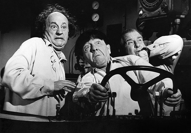 The three stooges in orbit movie