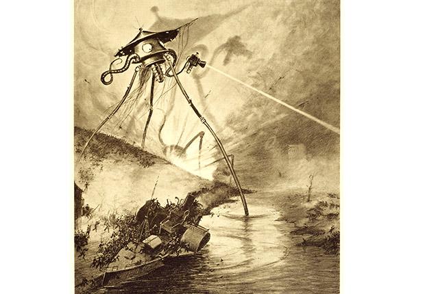 War of the Worlds illustration