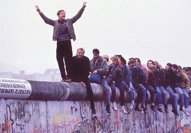 Noviembre 12, 1989. Alemania del Oeste. 25 años de aniversario de la caída del muro de Berlín