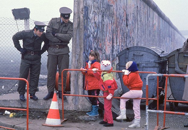 November 14, 1989. 25 años de aniversario de la caída del muro de Berlín
