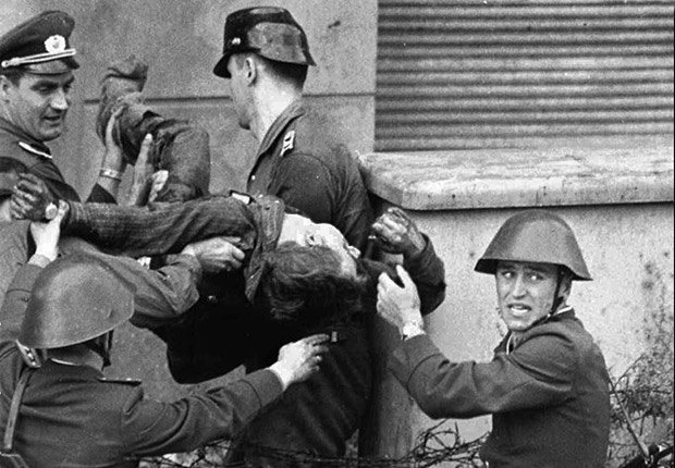 25 años de aniversario de la caída del muro de Berlín