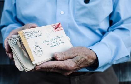 Last Letter Home Hugh Aaron