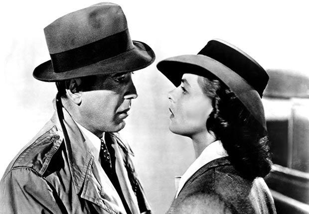 CASABLANCA, Humphrey Bogart, Ingrid Bergman, 1942
