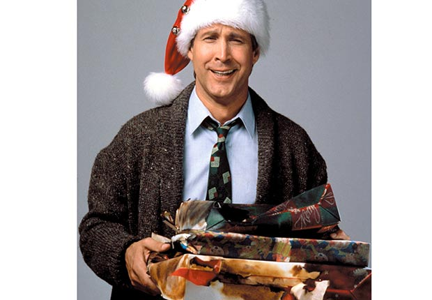 NATIONAL LAMPOON'S CHRISTMAS VACATION, Chevy Chase, 1989