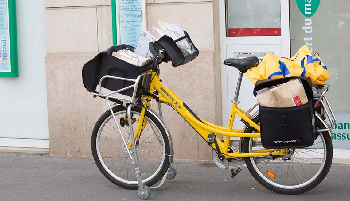 Bicicleta de mensajería