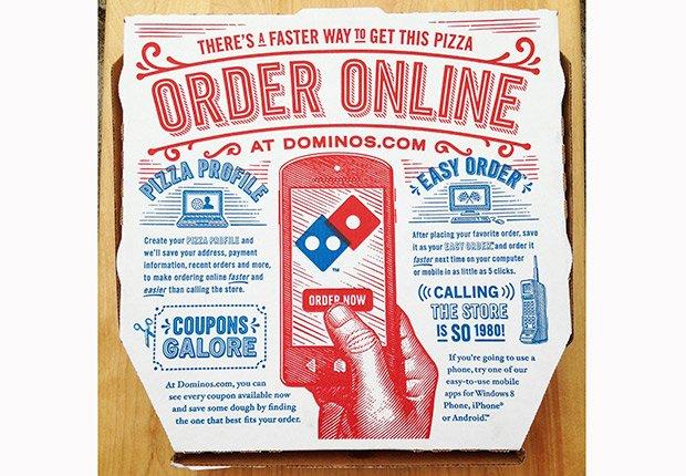 Finanzas: Llamada a Dominos Pizza