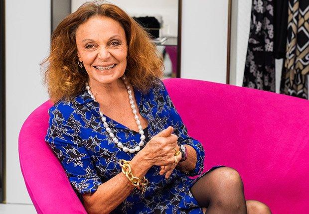 Moda: Estilo contemporáneo - Diane von Furstenberg