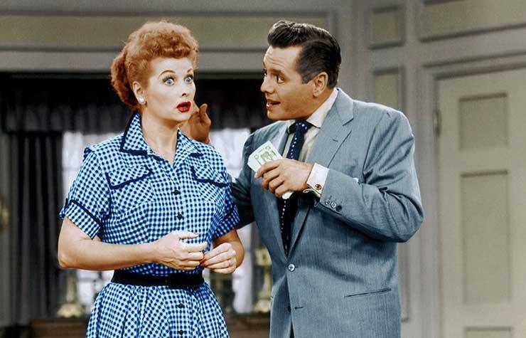 Un show muy seguido I Love Lucy