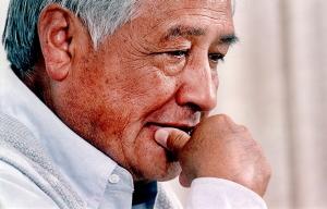César Chávez, semanas antes de fallecer el 23 de abril de 1993.