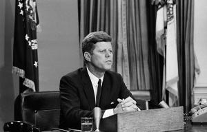 Presidente John F. Kennedy habla sobre los derechos civiles