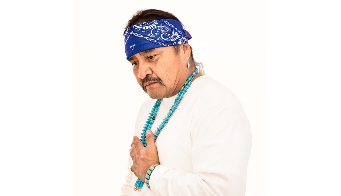 Hispanic Man, Portrait, Prayer Beads, AARP Politics, Events And History, Power Of Prayer
