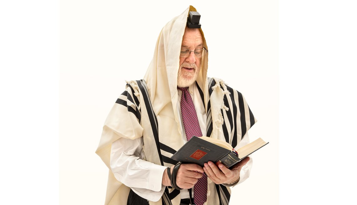 Rabbi, Religious Figure, Portrait Of A Rabbi With Robes, AARP Politics, Events And History, Power Of Prayer