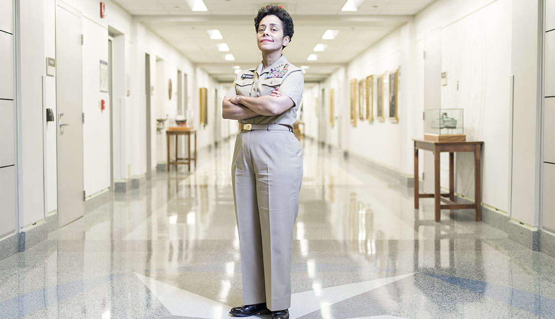 Admiral Michelle Howard, U.S. Navy's first woman four-star admiral
