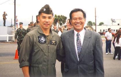 Qang Pham and his father