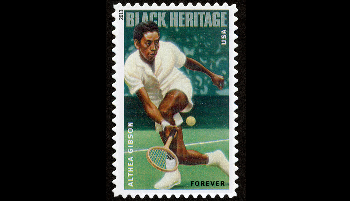Althea Gibson stamp